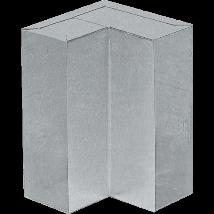 Impianti aria tubo rettangolare benigno caminetti for Curva vertical exterior 90
